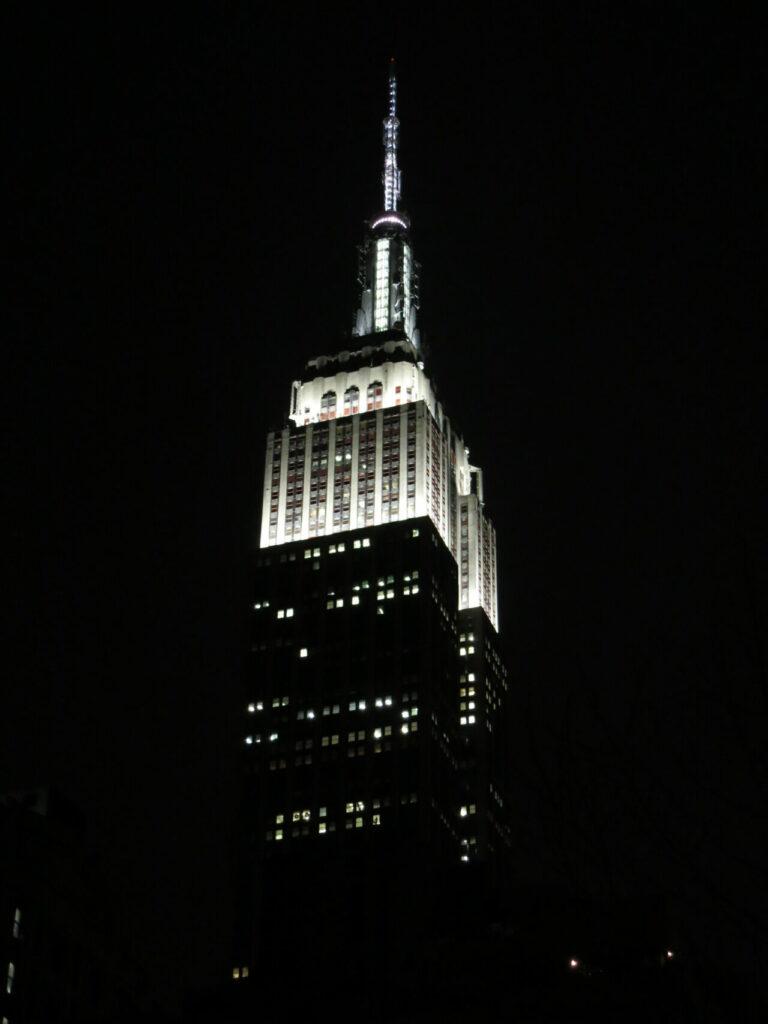 Empire State Building bei Nacht