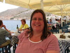 Betti im Griechenland-Urlaub 2010