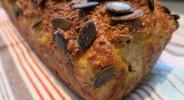Haferkleie-Karotten-Brot
