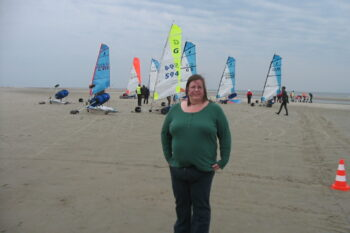 Betti an der Nordsee im September 2013