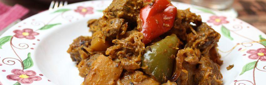 Ungarischer Sauerkraut-Gulaschtopf