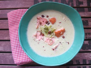 Wirsingcremesuppe