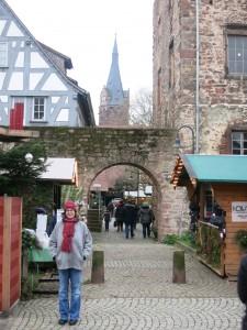 Eingang Weihnachtsmarkt