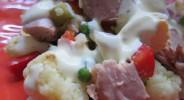 Thunfisch-Blumenkohl-Salat