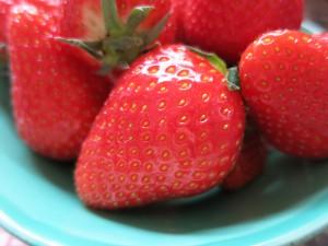 Bärlauchpaste Erdbeeren 036