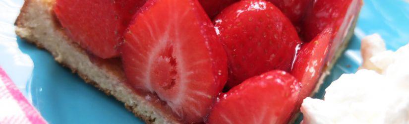 Low Carb Erdbeerbödchen