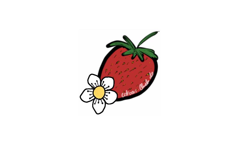 Happy Carb meets Erdbeerblüte
