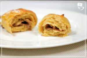Low-Carb-Schoko-Croissants