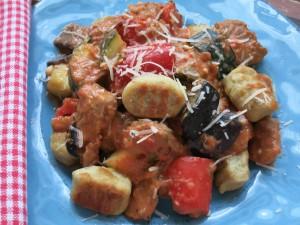 Mediterranes Putengulasch mit Gnocchis