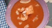 Fruchtige Tomaten-Fischsuppe