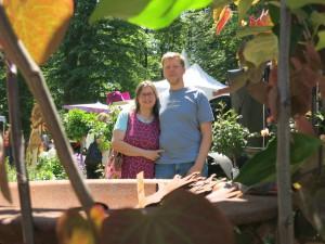 Betti und Carsten auf der Odenwald Countryfair