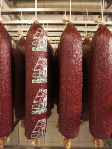 Ullrichs Putenhof - Salami-Produktion
