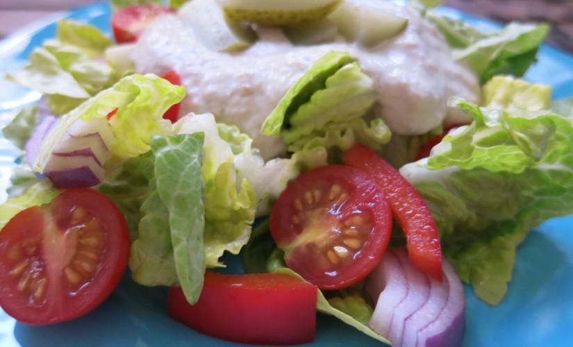 Da haben wir den Low Carb Salat