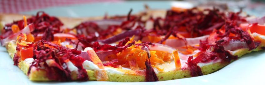 Low Carb Veggie-Flammkuchen