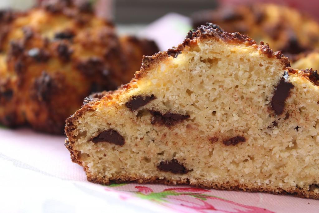 Haferkleie-Schokoladenbrötchen - Happy Carb Rezepte