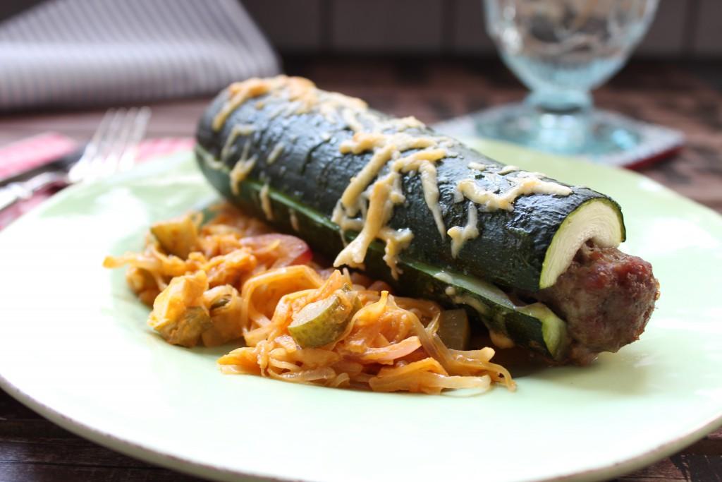 zucchini hot dog happy carb rezepte. Black Bedroom Furniture Sets. Home Design Ideas