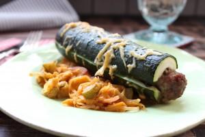 Zucchini-Hot-Dog
