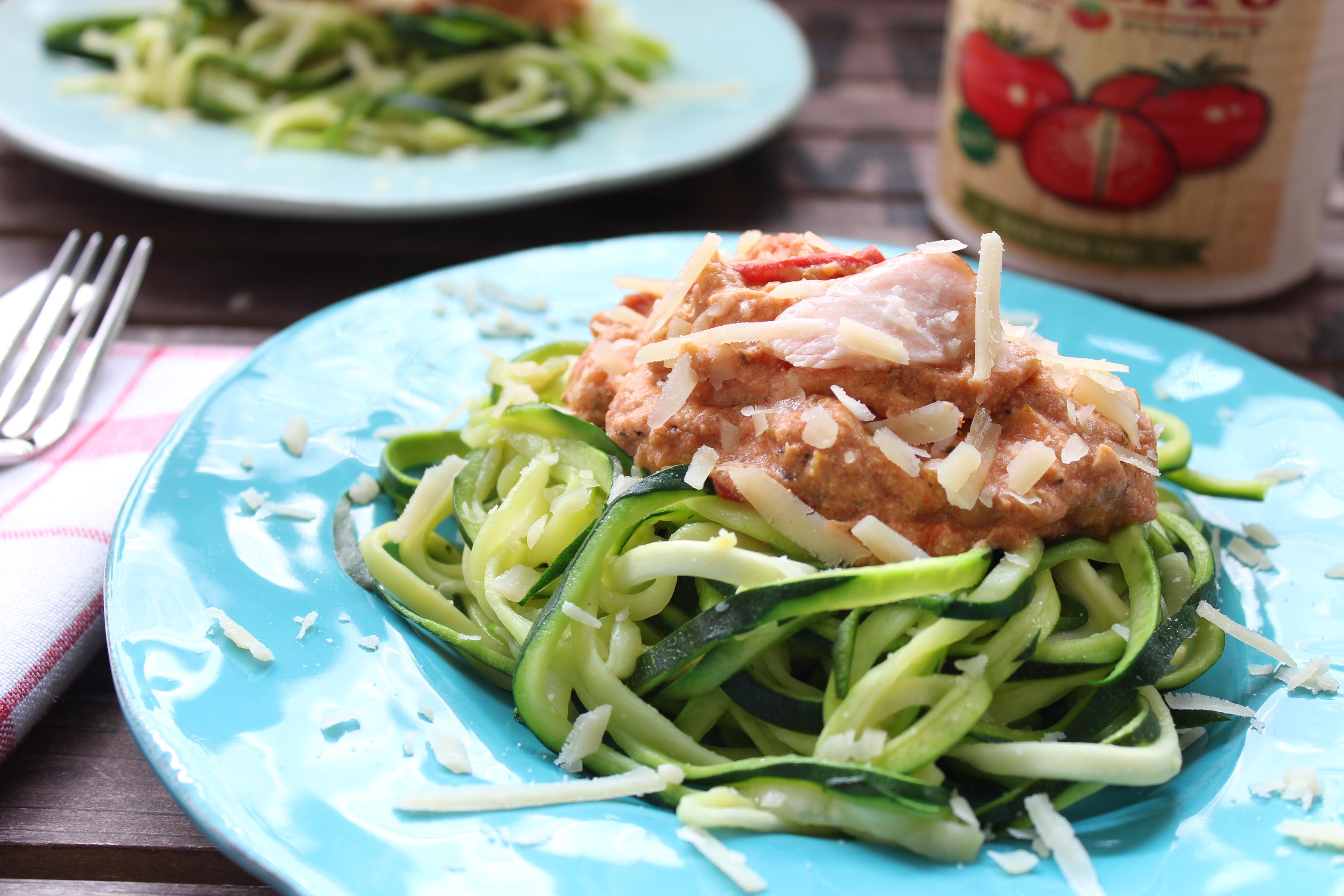 Rezept zucchini lachs