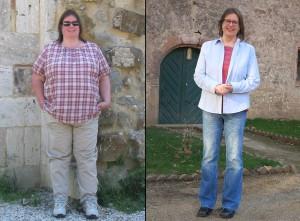 Bettina Meiselbach - Vorher - Nachher - Abnehmen mit Low Carb