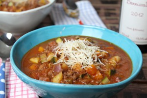 Bolognese-Suppe