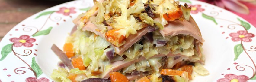 Fleischkäse-Lasagne