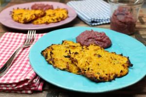 Low Carb Kartoffelpuffer