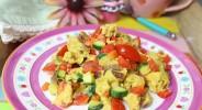 Gemüse-Rührei