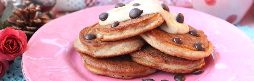 Spekulatius-Pancakes mit Zimt-Mandelcreme