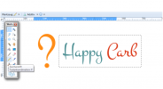 Happy Carb Logo Umfrage