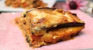 Auberginen-Lachs-Lasagne