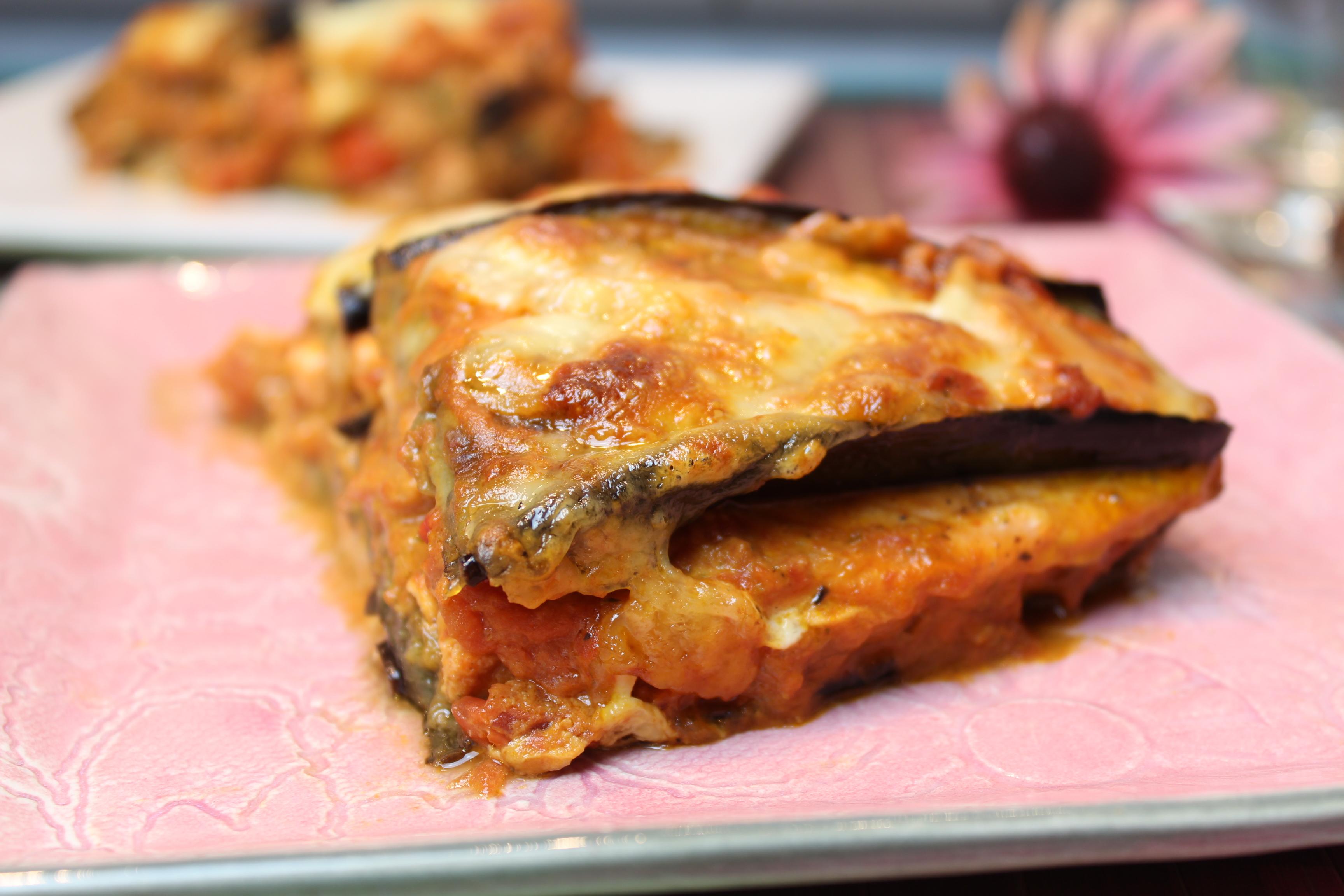 auberginen lachs lasagne happy carb rezepte. Black Bedroom Furniture Sets. Home Design Ideas