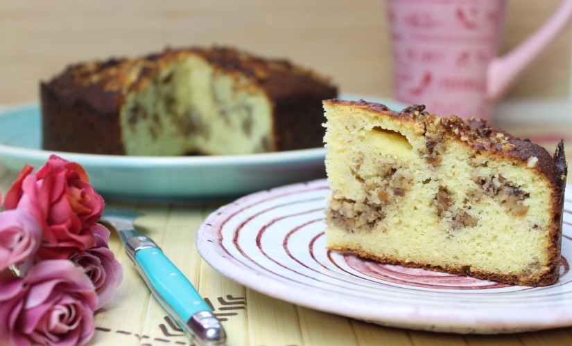 Haselnuss-Swirl-Kuchen