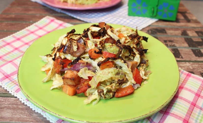 Ofen-Wirsing-Frittata