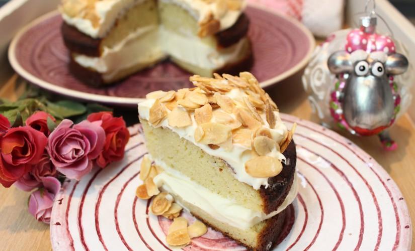Vanille-Mandel-Torte