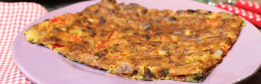 Schüttelpizza Bärlauch-Thunfisch
