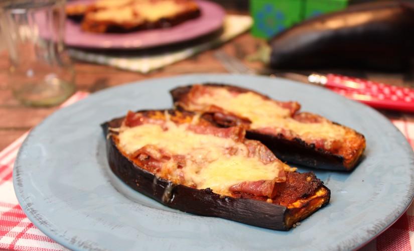 Auberginen-Pizza Toskana