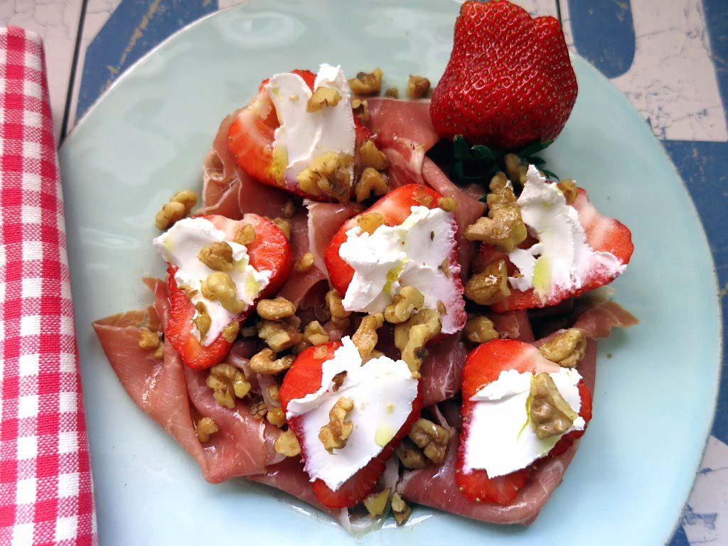 Erdbeer-Schinken-Käse-Traum