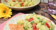 Kohlrabi-Curry-Salat