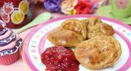 Pamuffcakes mit Marmelade