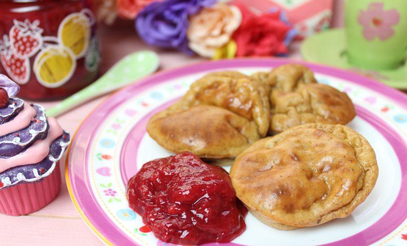 Pamuffcakes mit Low Carb Marmelade