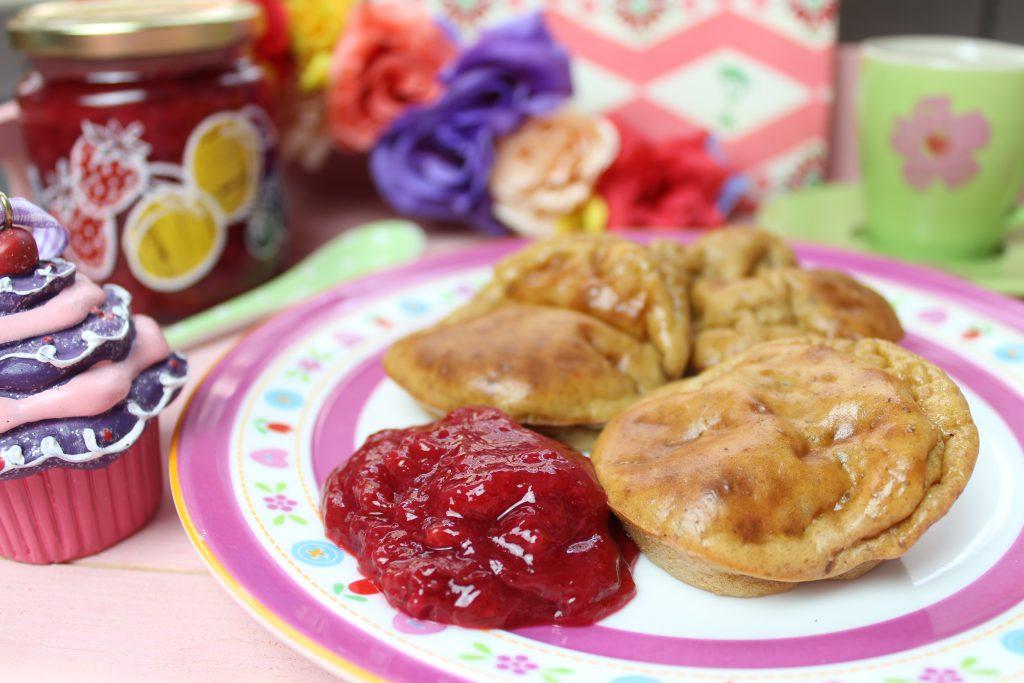 pamuffcakes mit low carb marmelade happy carb rezepte. Black Bedroom Furniture Sets. Home Design Ideas