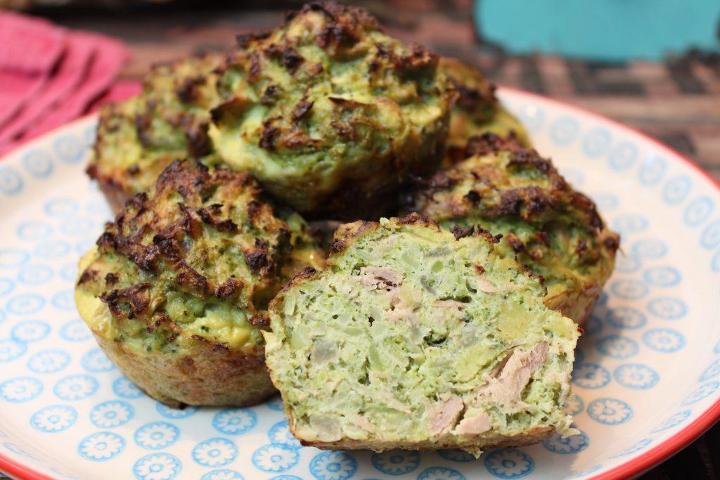 thunfisch brokkoli muffins happy carb rezepte. Black Bedroom Furniture Sets. Home Design Ideas