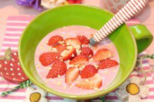 Erdbeer-Mandel-Shake
