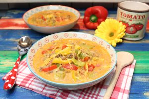 Cheeseburger-Suppe