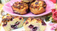 Heidelbeer-Haferkleie-Muffins