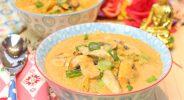 Thai-Hähnchen-Kokossuppe