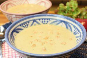 Erdnuss-Kartoffelsuppe