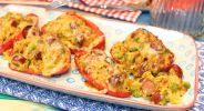 Raclette-Paprika-Schiffchen