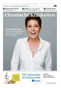 Die Welt Artikel 09/2016 Chronische Krankheiten