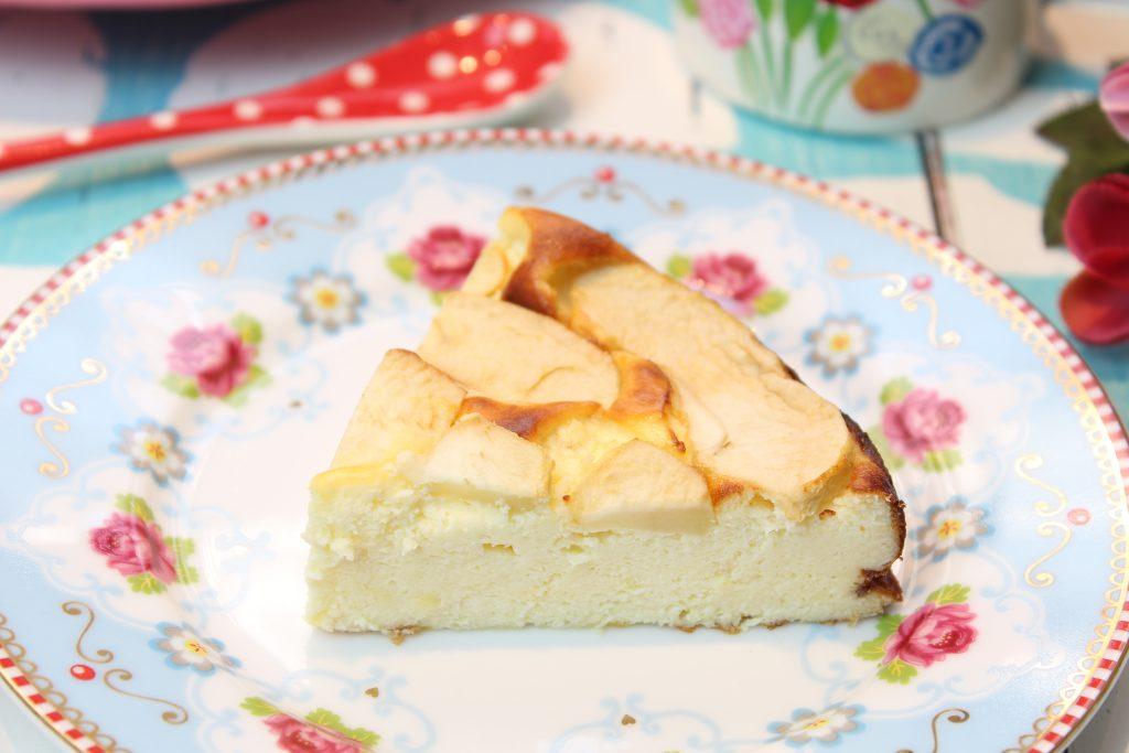 Low Carb Kasekuchen Mit Apfel Happy Carb Rezepte